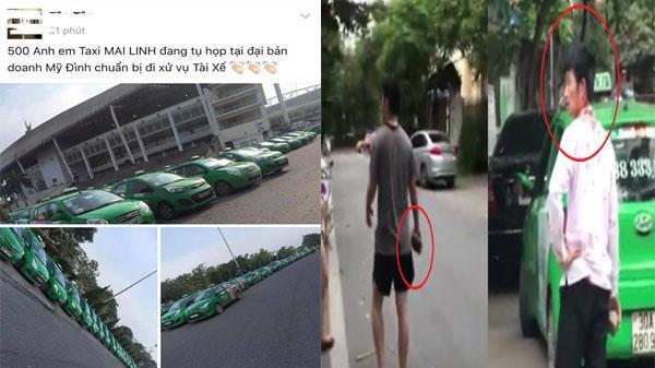 """Sự thật """"500 anh em"""" taxi Mai Linh tụ tập đòi """"xử"""" người đi Mercedes đánh người"""