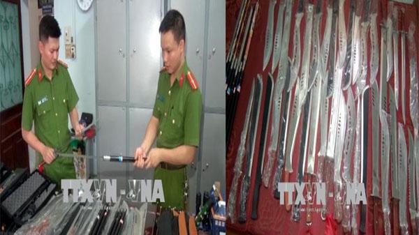 """Nam Định: Bắt đối tượng sử dụng facebook để rao bán vũ khí với số lượng """"KHỦNG"""""""