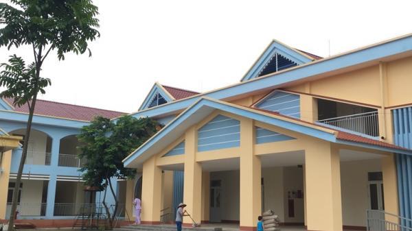 Vĩnh Phúc: Bảo đảm cơ sở vật chất các trường học trước thềm năm học mới