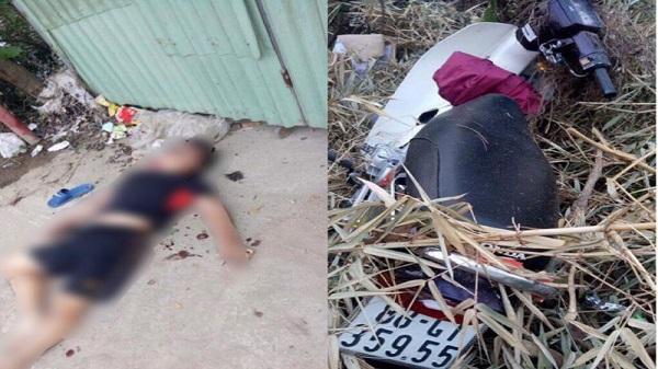 Vĩnh Phúc: Bàng hoàng phát hiện 2 người nằm bất tỉnh bên xe máy trước cửa nhà dân