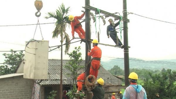 Điện lực Hà Giang đảm bảo cung ứng điện mùa mưa lũ