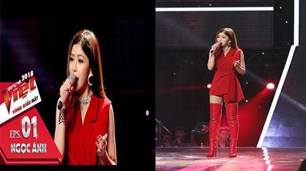 Bộ tứ Ban giám khảo The Voice 'đấu đá nảy lửa' khi hotgirl Vĩnh Phúc cất giọng hát