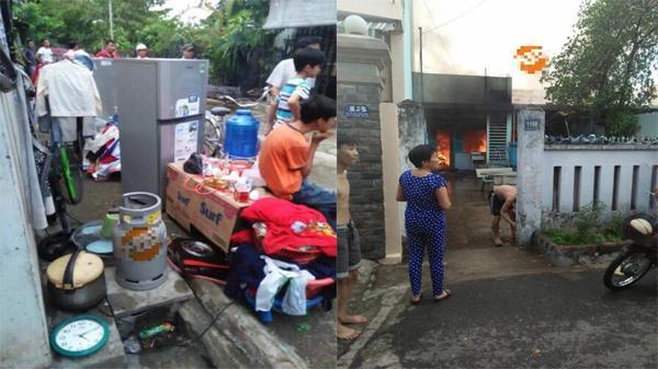 Nóng: Người phụ nữ đốt hương muỗi, đốt cháy luôn 3 căn nhà