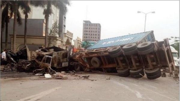 Liên tiếp xảy ra các vụ tai nạn nghiêm trọng tại Vĩnh Phúc