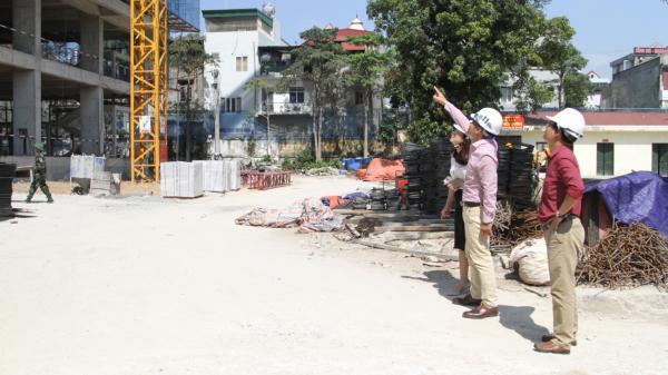 Vĩnh Phúc: Đẩy nhanh thi công công trình Nhà điều trị nội trú - Bệnh viện đa khoa tỉnh