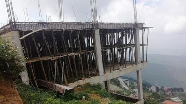 Công trình sai phạm tại Tam Đảo –Vĩnh Phúc: Vẫn ngổn ngang chờ xử lý