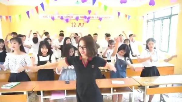 Xôn xao clip cô giáo 'cơ trưởng' cầm đầu lớp học, quẩy như trên bar gây sốt CĐM?