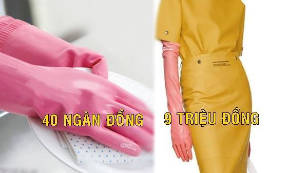 Hết hồn: Găng tay rửa bát Việt Nam được bán lại với giá 9 triệu đồng?