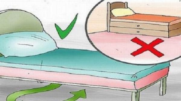 Cất đồ dưới gầm giường là bạn đang tự hại mình mà không hề hay biết