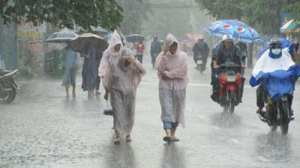 Hôm nay 29/5: Bắc Bộ mưa rào, đề phòng dông lốc