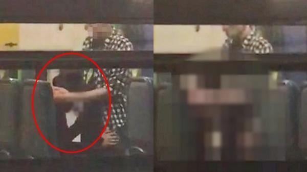 """Phẫn nộ clip cặp đôi """"mây mưa"""" trên tàu điện ngầm, tư thế táo bạo trăm lần cặp đôi quán trà sữa"""