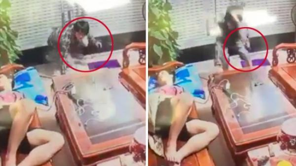"""SỐC: Trộm cầm dao lẻn vào nhà lấy điện thoại, gia chủ vẫn ngủ say như """"c.h.ế.t'"""