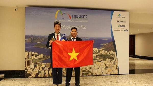 Gặp gỡ chàng trai Vĩnh Phúc giành Huy chương Đồng trong Kỳ thi Olympic Toán học quốc tế