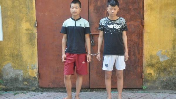 Vĩnh Phúc: Hai thanh niên 2k táo tợn cướp tài sản của người đi đường