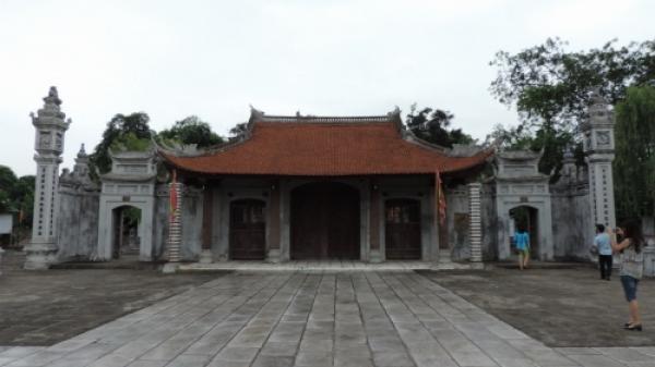 Vĩnh Phúc: Thăm đền cổ thờ Hai Bà Trưng