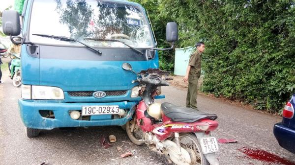 Vĩnh Phúc: Tai nạn giao thông làm hai người bị thương nghiêm trọng