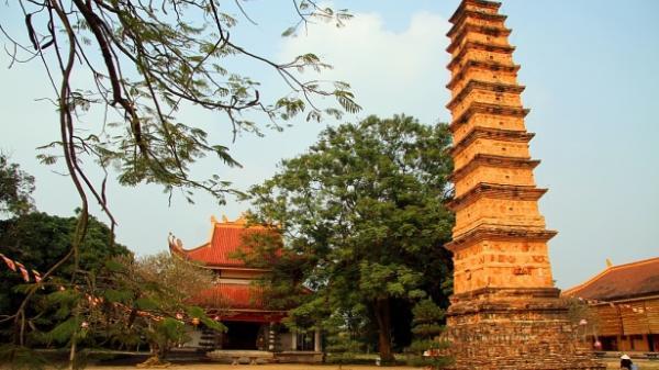 Cận cảnh ngôi tháp cổ tại Vĩnh Phúc được mệnh danh 'bảo tháp đẹp nhất xứ Bắc'