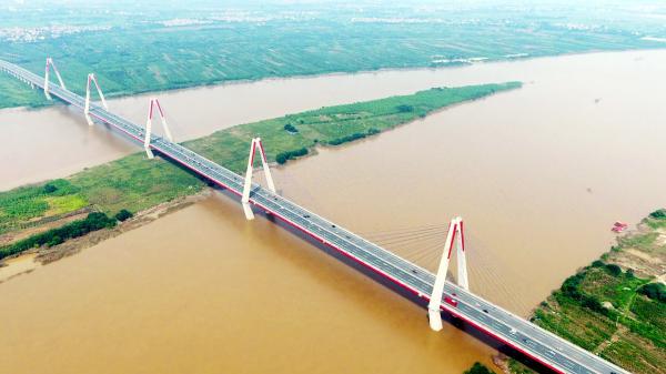 Người dân Vĩnh Phúc tự hào khi cầu Vĩnh Thịnh là 1 trong 7 cây cầu hiện đại, độc đáo trên cả nước