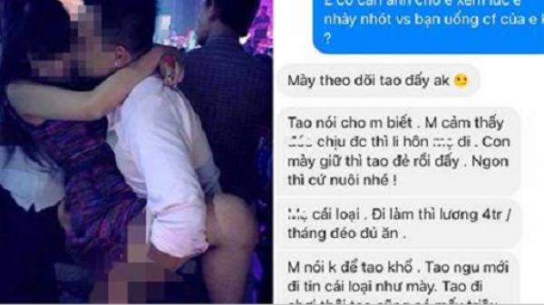 Chồng 9X cầu cứu cộng đồng mạng khi vợ trẻ quê Vĩnh Phúc suốt ngày bỏ con nhỏ đi chơi bar