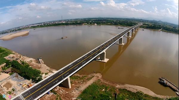 Những sự thật ít ai biết về cây cầu Vĩnh Thịnh nối liền tỉnh Vĩnh Phúc và Hà Nội