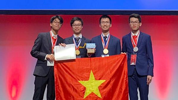 Nam sinh Thanh Hóa xuất sắc đạt huy chương vàng tại Olympic Hóa học quốc tế