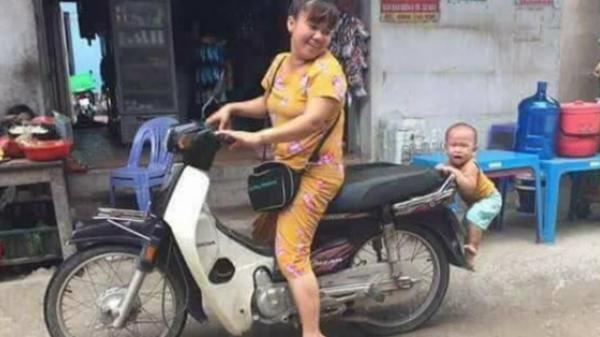 """Bé trai Vĩnh Phúc nhảy lên xe không cho mẹ đi chợ khiến dân mạng """"bấn loạn"""" vì yêu ơi là yêu"""