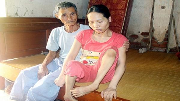 Không cầm được nước mắt trước hoàn cảnh của gia đình người bệnh binh nghèo ở Vĩnh Phúc