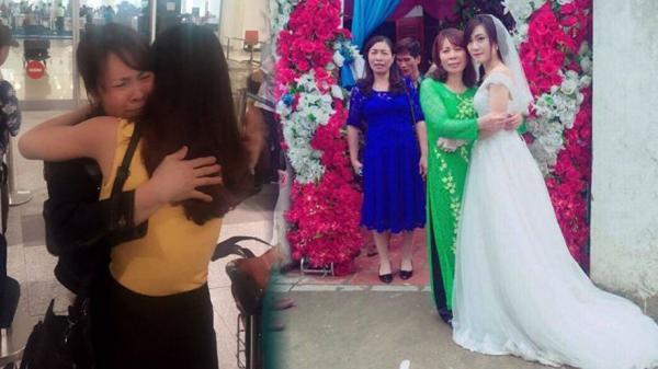 Xa mẹ 11 năm, ngày được gặp lại mẹ, con gái lại đi lấy chồng xa