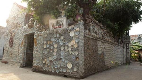 Vĩnh Phúc tự hào khi có một trong những căn nhà được xây bằng chất liệu kì lạ nhất Việt Nam