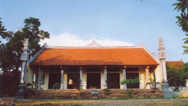 Chùa Báo Ân ở Vĩnh Phúc – Ngôi chùa cổ duy nhất từ thời nhà Lý