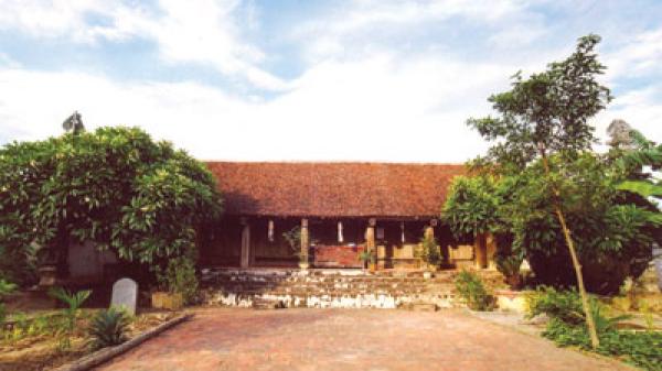 Chùa Hoa Dương - một di tích có kiến trúc độc đáo từ thời Hậu Lê