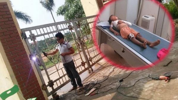 """Vĩnh Phúc: Học sinh lớp 1 bị cổng trường đổ đè gãy xương, nhà trường nói """"Không có trách nhiệm"""""""
