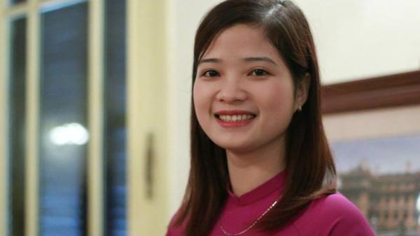 Cô giáo Vĩnh Phúc xinh đẹp vinh dự là một trong những giáo viên được Bộ GD-ĐT tuyên dương