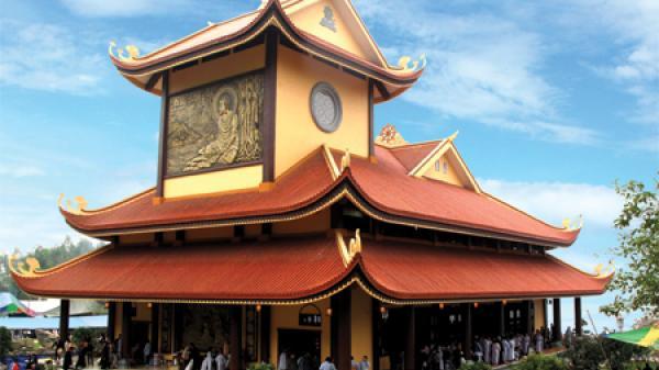 Thiền viện Trúc Lâm Tuệ Đức - đóa sen bát nhã giữa mây trời Sông Lô