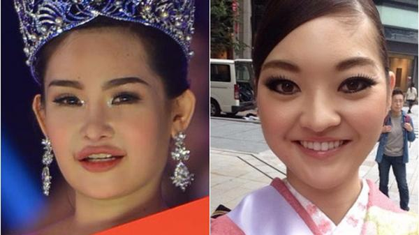 Cận cảnh nhan sắc 5 Hoa hậu bị ném đá dữ dội nhất ở thế giới và Việt Nam