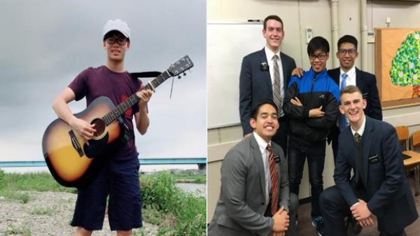Ngưỡng mộ hot boy Vĩnh Phúc giành cú đúp học bổng Nhật Bản ngoạn mục