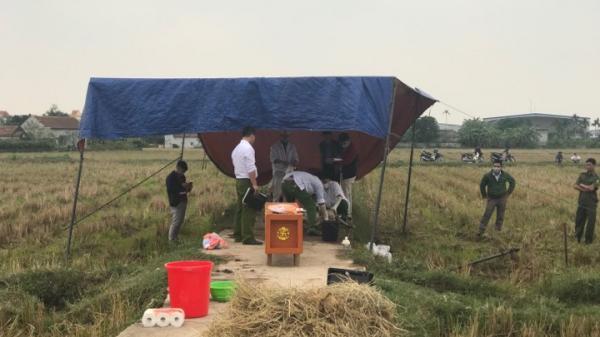 Tình tiết bất ngờ vụ thi thể cô gái dưới cống nước giữa cánh đồng