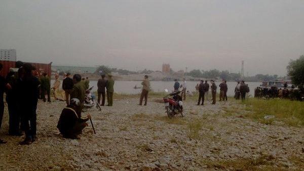 Công an thông tin về vụ nhóm người nhảy xuống sông khi đang đánh bạc, một thanh niên Vĩnh Phúc tử vong