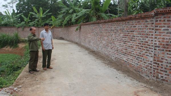 Ngưỡng mộ người đàn ông Vĩnh Phúc hiến hơn hàng nghìn m2 đất để xây dựng quê hương