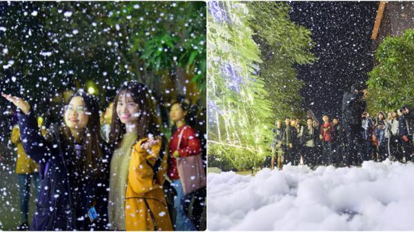 Giáng sinh năm nay, ngay gần Vĩnh Phúc sẽ có một cơn mưa tuyết lãng mạn như mùa đông châu Âu