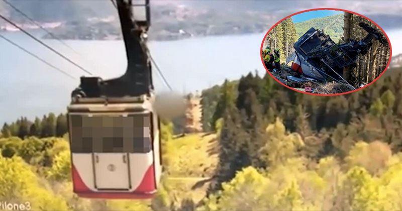 Clip kinh hoàng: Sắp đến trạm đích, cáp treo bất ngờ đứt dây rồi rơi tự do 500m khiến 14 người tử vong