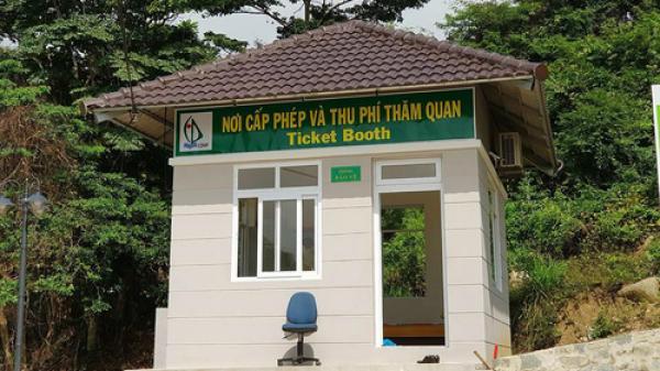 Tham quan Vườn Quốc gia Côn Đảo phải trả phí 60.000 đồng