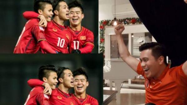 Nhiều nghệ sĩ vỡ òa khi U23 Việt Nam vào chung kết