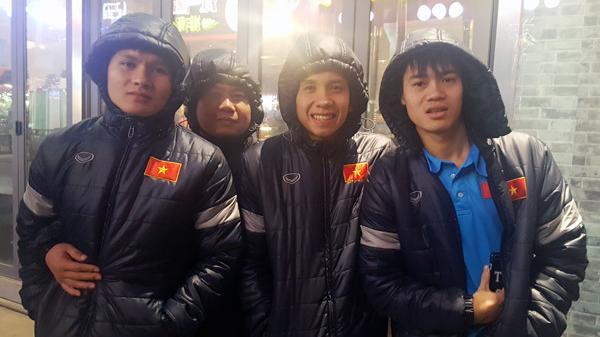 Thời tiết bất lợi, HLV Park Hang-seo đưa học trò đi xông hơi