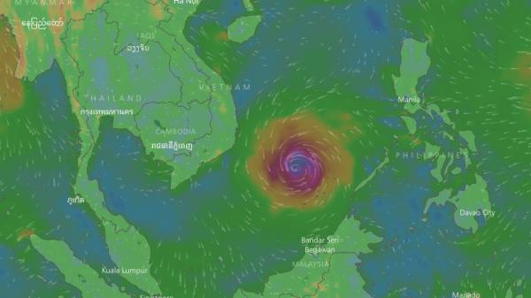 Biển Đông có thể đón áp thấp nhiệt đới dịp Tết Nguyên đán