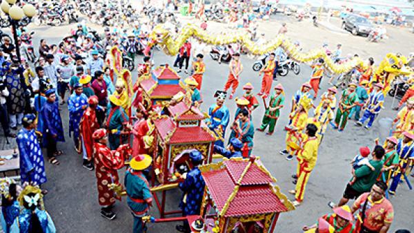 Bà Rịa Vũng Tàu: Khai mạc Lễ hội Dinh Cô Long Hải