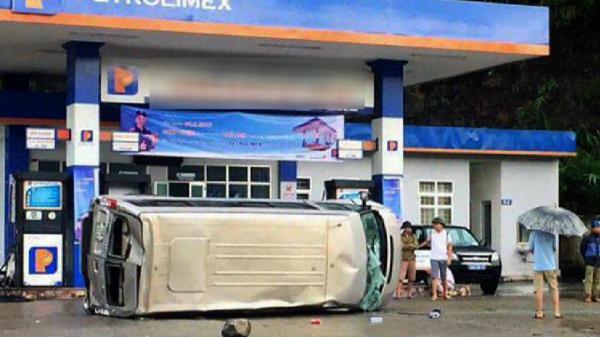 Tin An ninh - Trật tự Bà Rịa-Vũng Tàu: Lật xe khách 2 người thương vong