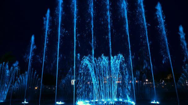 Đài nhạc nước kiểu Las Vegas ở Vũng Tàu