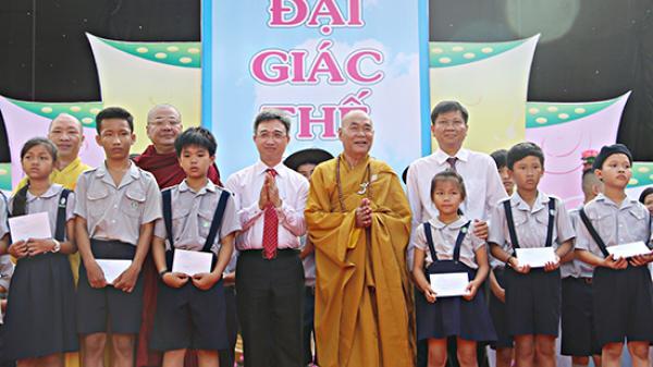 Giáo hội Phật giáo Việt Nam tỉnh Vũng Tàu tổ chức Đại lễ Phật đản năm 2018