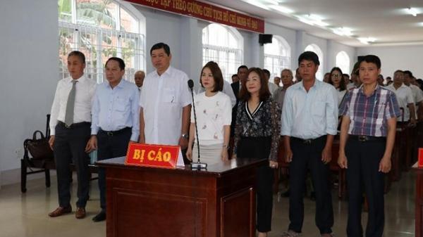 Nguyên chủ tịch, phó chủ tịch TP Vũng Tàu cùng hầu tòa